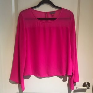 Pink Vince Camuto Blouse - Size L